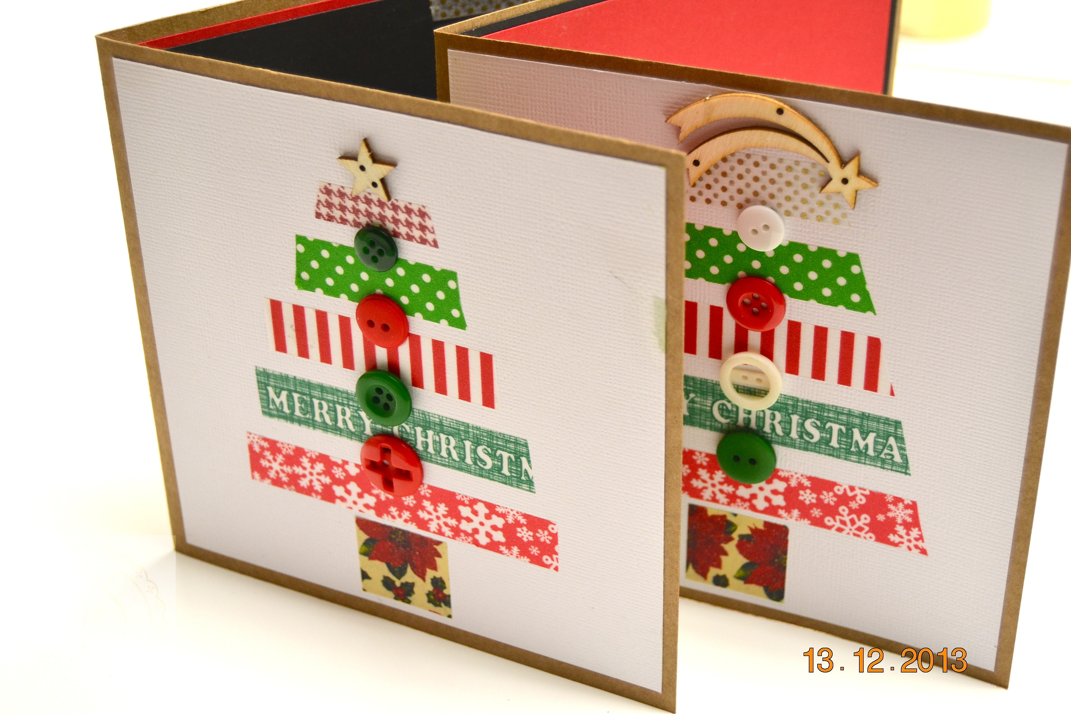 Postales de navidad christmas mariona handmade - Postal navidad original ...