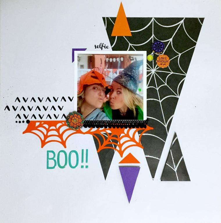 Layout Halloween