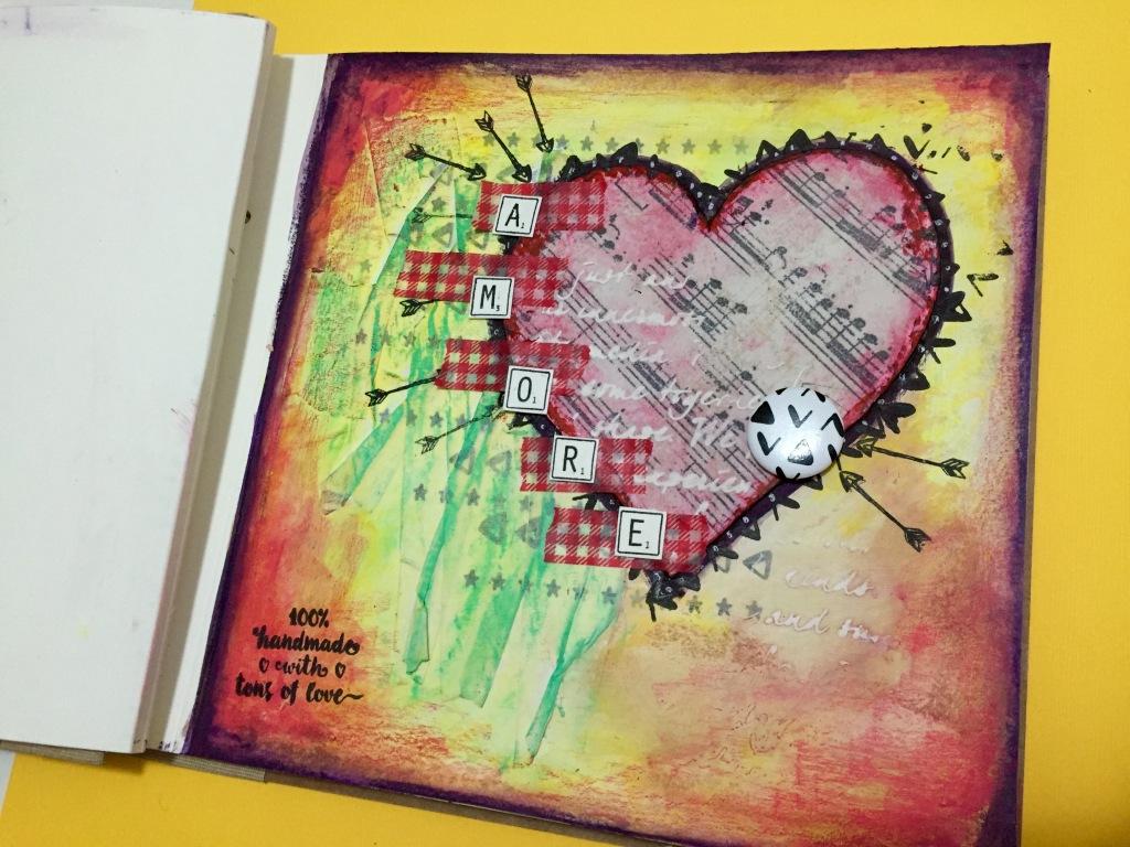 Art Journal by Marionahandmade 3